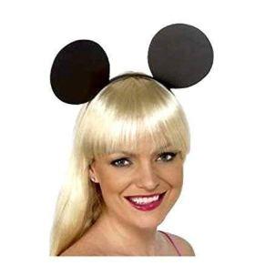 Diadema de Minnie con orejas de Mickey Mouse, accesorio para disfraz de animal