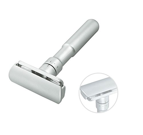 Merkur Futur 700 Adjustable Double-Edge Razor Satin Finish