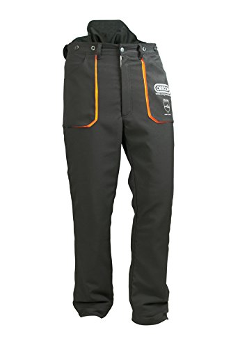 These trousers are good quality and comfortable to work in. The fitting is good and there are several waist sizes to choose from. They are much lighter than many chainsaw trousers on the market. The couple of pockets available are handy but the Velcro closure is a disappointment. The Oregon Yukon Type A Chainsaw Trousers meet their true purpose and they are pretty much affordable. A decent choice for any chainsaw operator working on the ground regularly.