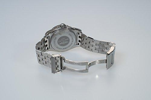 Breitling Galactic 36Damen Automatik Uhr mit Braun Zifferblatt Analog-Anzeige und Silber Edelstahl Armband A3733012/q582/376A - 3