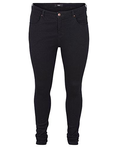 zizzi Jeans, Damen, 48, Schwarz