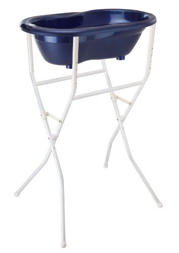Rotho Babydesign 20096 0001 - Soporte plegable y ajustable en altura para las cubetas Style, Top Y Bella Bambina