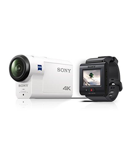 Sony HDR-AS300R Action Camera con B.O.SS, Sensore CMOS ExmorR, Bianco
