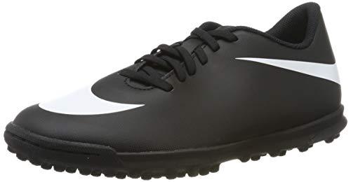 Nike Bravata II TF, Scarpe da Calcetto Indoor Uomo, Nero (Black/White/Black 001), 41 EU