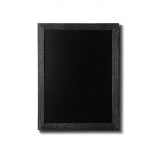 Lavagna a gesso legno nero, 50x60, Ardesia TELAIO IN LEGNO PIATTO LEGNO