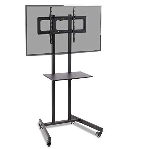Duronic TVS5T1 - Supporto mobile TV/Monitor LCD (37'-70') con trolley per presentazioni/riunioni...
