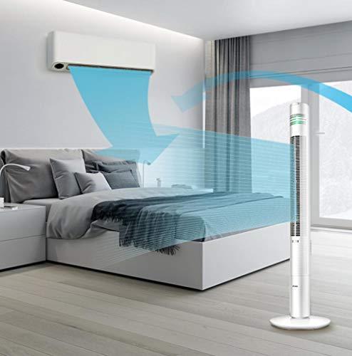 HSXHSMY Home Smart Telecomando Ventilatore a torre con telecomando e timer Ventilatore a torre...