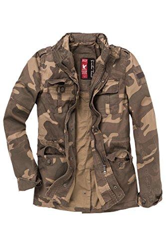 Delta Industries, Britannia, giacca da uomo Light Woodland S