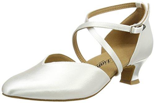 Diamant Brautschuhe Standard 107-013-092 Damen Tanzschuhe Standard & Latein, Weiß), 40 EU