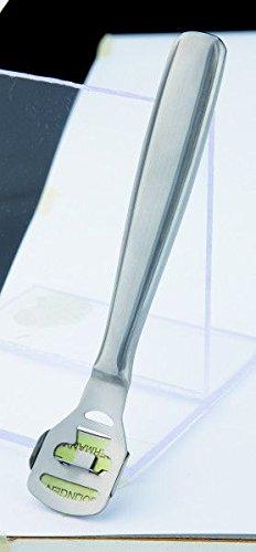 EKS Solingen Hornhauthobel, rostfreier Stahl, sterilisierbar, inklusive 10 Ersatzklingen