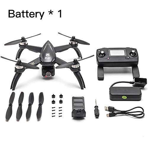 Euopat Drone, MJX Bugs 5W Mini Drone con Videocamera HD Live Video WiFi, Aggiornamento 5W Bugs 8G 4K Drone Batteria A Lunga Durata Telecomando Quadcopter per MJX, Buono per I Principianti