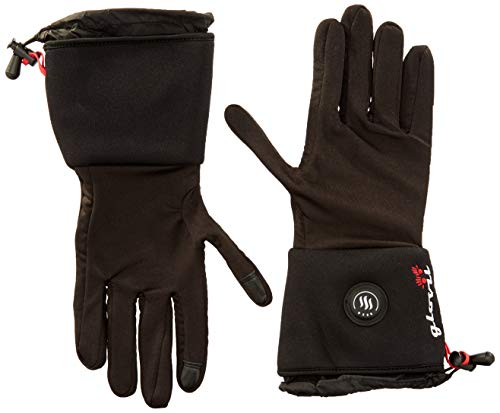 Glovii GL2 - Guantes de esquí para Hombre, Medium, Color Negro