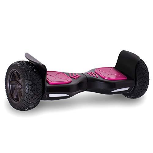 Double Hunter Hoverboard Tout Terrains 8.5 Pouces, Gyropode SUV Tout-Terrain 2x350W