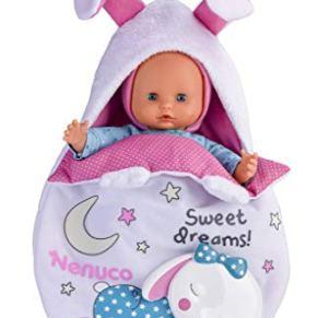 Nenuco de Famosa Saquito Mágico, muñeca bebé con Luces y Sonidos para niñas y niños a Partir de 10 Meses (Famosa…