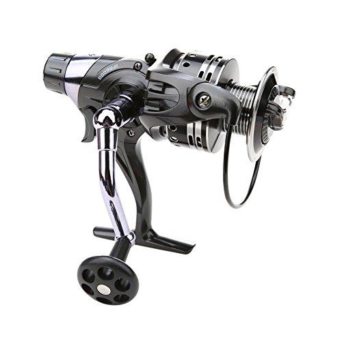 Starnearby STAR Earby Angel spinnrollen 11+ 1BB Dual Brake System Bait Casting Mulinello per pesca alla carpa Mare Pesca, 6000, 160.00 * 150.00 * 90.00