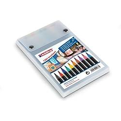 Edding 1340 - Rotulador con punta fina, 10 unidades, varios colores