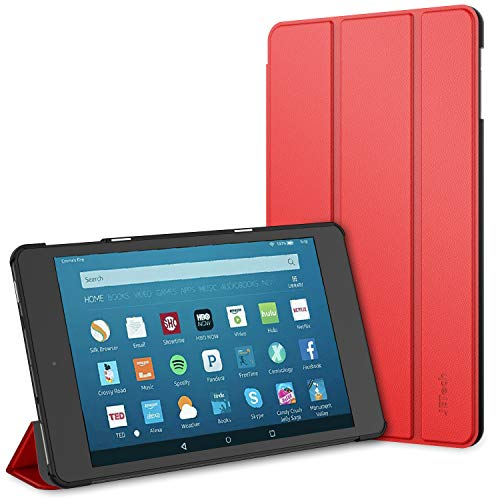 JETech Custodia Nuovo Amazon Fire HD 8 (8ª / 7ª / 6ª Gen - Modello 2018, 2017 e 2016), Cover con...