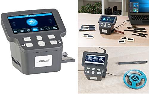 """Somikon Negativscanner: Stand-Alone-Dia-, Negativ- & Super-8-Scanner, 12,5-cm-Farbdisplay (5"""") (Dia Film Scanner)"""