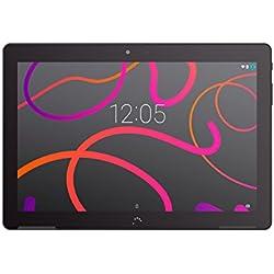 BQ Aquaris M10 - Tablet de 10.1 Pulgadas FullHD (WiFi, Quad Core 1.3 GHz, 2 GB de RAM, 16 GB de Memoria Interna, Android 5.1), Color Negro