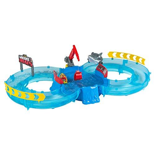 Zuru-Micro Boats Circuito Gara & 1Gommone di Acqua, Colorbaby 42788