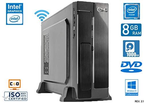 - CeO Gamma V1 - Mini PC Intel J3455 2.30 GHz 2MB Cache   8GB Ram   1TB Hard Disk   Grafica Intel HD...