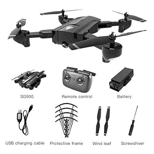 Deasengmint SG900 Pieghevole Quadcopter 2.4 GHz 720 P Drone Quadcopter WiFi FPV Droni Flusso Ottico...
