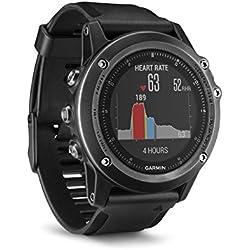 Garmin fēnix 3 HR Saphir GPS-Multisportuhr, Herzfrequenzmessung am Handgelenk, zahlreiche Sport- & Navigationsfunktionen