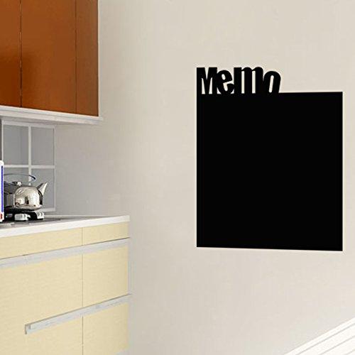 Adesivo da parete lavagna memo con gesso liquido–55x 45cm