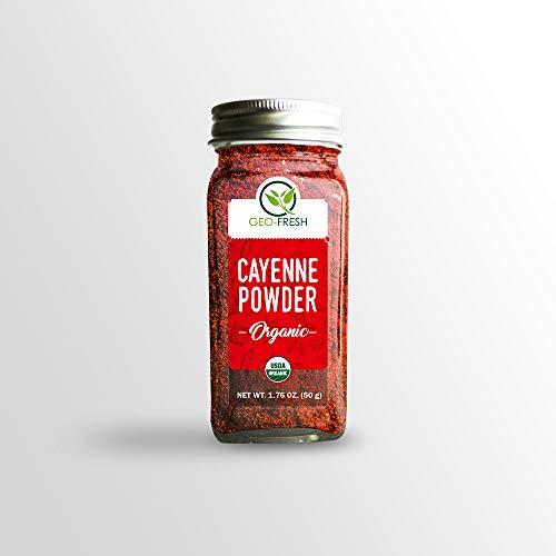 Geo-Fresh Organic Cayenne Powder (50g)