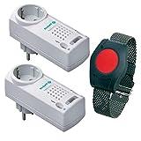 Pflegeruf-Set / Hausnotruf / Senioren-Hausalarm / Senioren-Sicherheitspaket 5 - (mit...