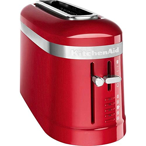 KitchenAid Design Collection - Tostapane a 2 fette H20 x B14 x T40 cm Empire Rot