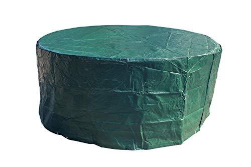 Laxllent Set di Copertura per Mobili da Giardino,Copertura Protettiva per Giardino da Esterno Impermeabile,Set di divani,Verde (Dia 190 x 70cm)