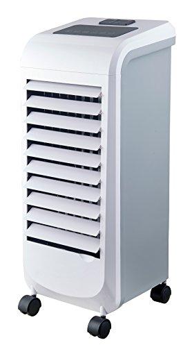 Ardes ar5r11Cool B raffrescatore Humidificateur evaporativo d'environnement 3niveaux de vitesse avec minuteur Télécommande et roues, blanc