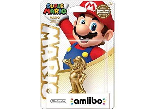 Amiibo Mario Gold Edition