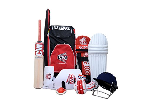 CW Cricket Complete Set With Accessories In Full Size (Ideal For Senior Players)