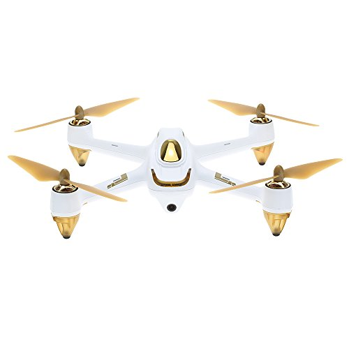 Hubsan H501S X4 Brushless FPV Droni Quadricotteri GPS Fotocamera 1080P HD 5.8Ghz Headless Follow Me GPS Hold Altitude con H901A Telecomando (H501S Bianco)
