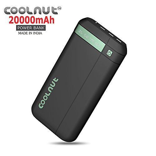Coolnut Ultra High Capacity Best Power Bank for Mobile 20000mAh,Mobile Battery