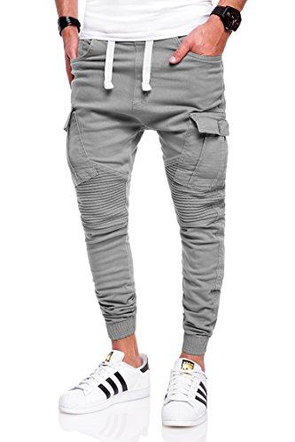 behype. Herren Jogg-Jeans Chino Jeans-Hose 80-2276 Hellgrau 38