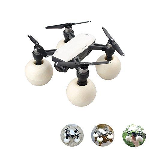 Hensych - Kit di sfere galleggianti con gambe estese per droni DJI Spark per atterraggio e decollo...