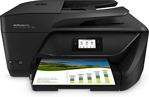 HP OfficeJet 6950 P4C85A Stampante Multifunzione a Getto di Inchiostro, Stampa, Scannerizza,...
