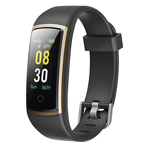 YAMAY Smartwatch Orologio Fitness Tracker Pressione Sanguigna Uomo Donna Cardiofrequenzimetro da...