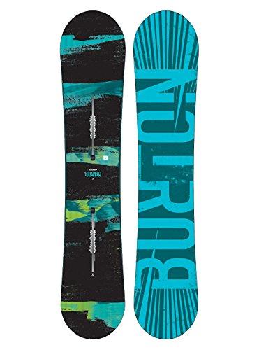 Burton Herren Ripcord Snowboard, Schwarz, 157