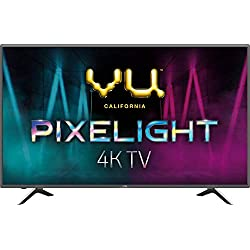 VU 108 cm (43 Inches) 4K Ultra HD Smart LED TV 43UH (Titanium) (2019 Model)