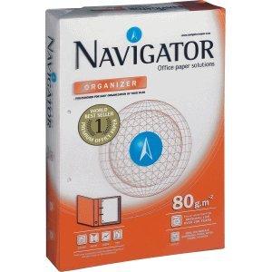Navigator Kopierpapier Organizer A4 80g/qm gelocht VE=500 Blatt hochweiß