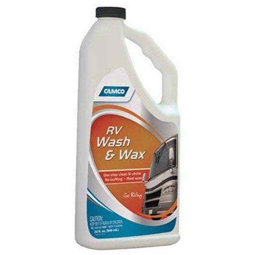 Camco 40493 32 oz RV Wash/Wax adhesive waxing supplies
