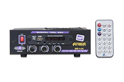 Aiwa VNR Bluetooth AC/DC Stereo Audio Amplifier MP3 Player Module with Speaker, Card, USB