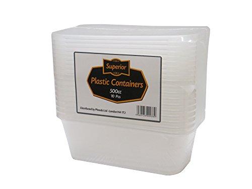 [10Pack] calidad superior tapas de contenedores de plástico