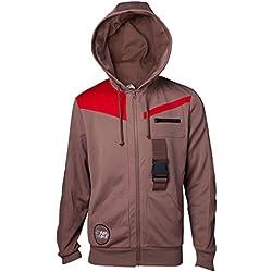 Star wars: The last Jedi Sweatshirt Finn's Jacket Hoodie Brown-XXL