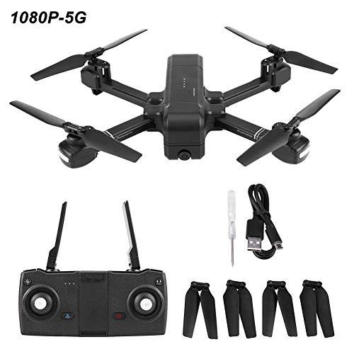 Drone RC Intelligente, GPS SJ Z5 Drone Pieghevole Fotografica WiFi Altitudine in Attesa(1080P-5G)