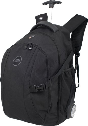 Trespass Eldorado Rolling Back Pack, Uomo, Eldorado, Black, 36 l